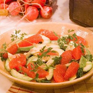 Avocado and Grapefruit Salad