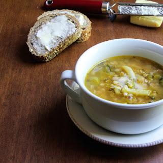 Summer Farro Soup