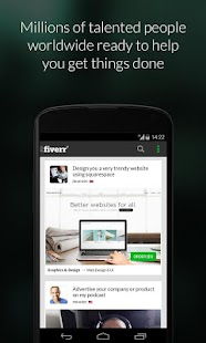Fiverr Screenshot 1