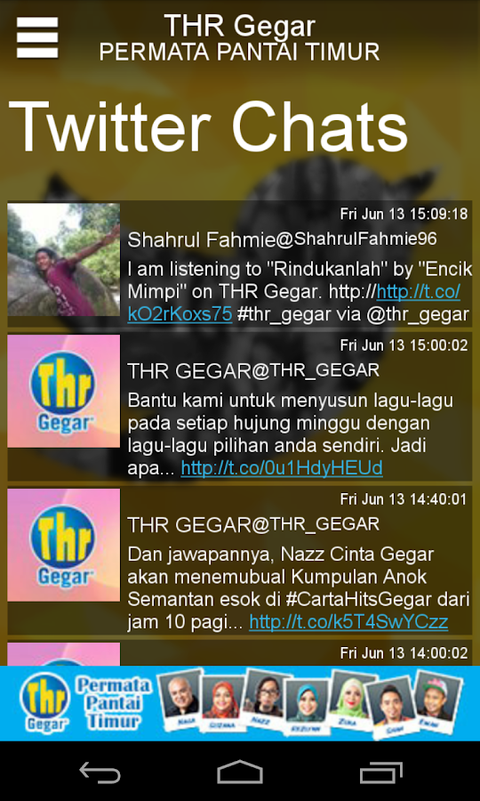 THR Gegar - screenshot