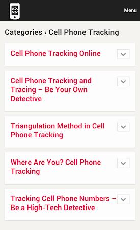 Cell Phone Tracker Tips 1.0 screenshot 9994