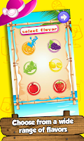 Screenshot of Ice Smoothies Maker