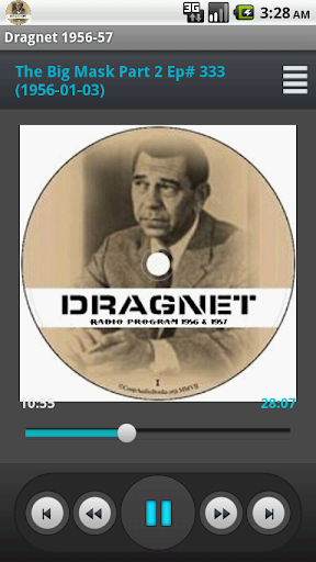 Dragnet Old Time Radio 1956-57