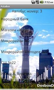 AstaBus- screenshot thumbnail