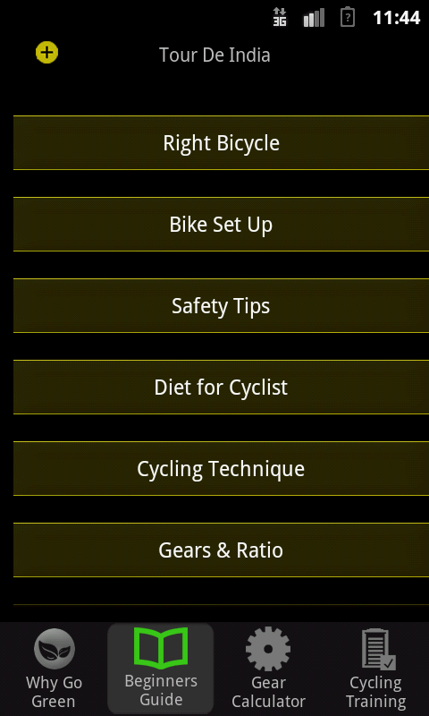 Tour De India- screenshot