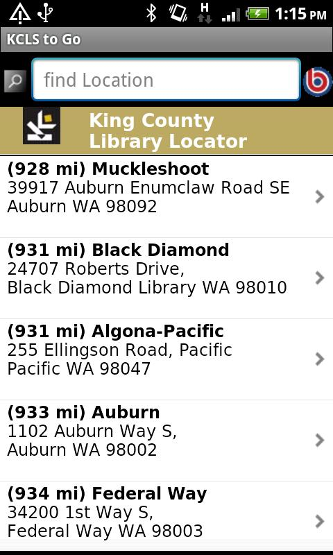 KCLS to Go - screenshot