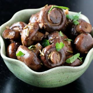 Roasted Mushrooms with Rosemary and Garlic.