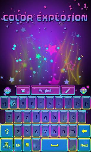 Color Explosion Go Keyboard
