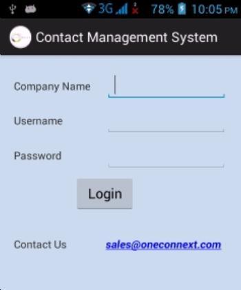 Contact Management 30 days