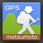 GPS Hiking Route-Matsumoto