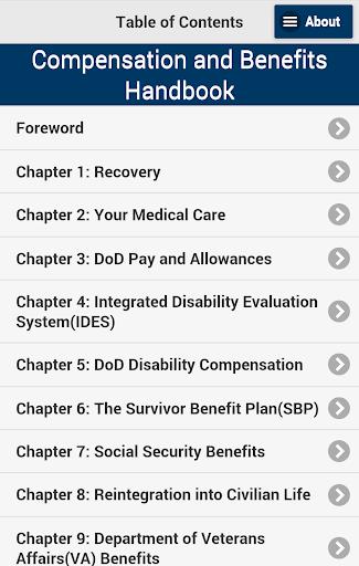 Compensation Benefits Handbook