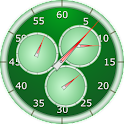 Analog Interval Stopwatch icon