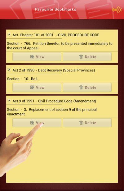 Civil Procedure Code Law Lanka- screenshot