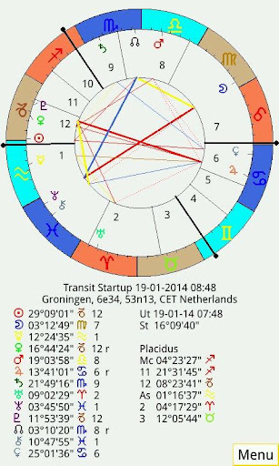 Planetdance Astrology screenshot