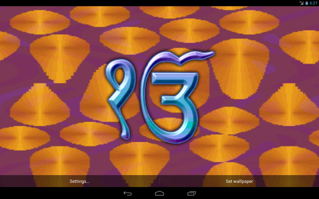Satnam Waheguru Live Wallpaper - Android Apps on Google Play