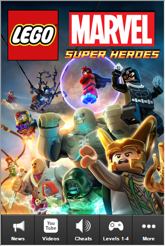 Lego Marvel Superheroes Cheats