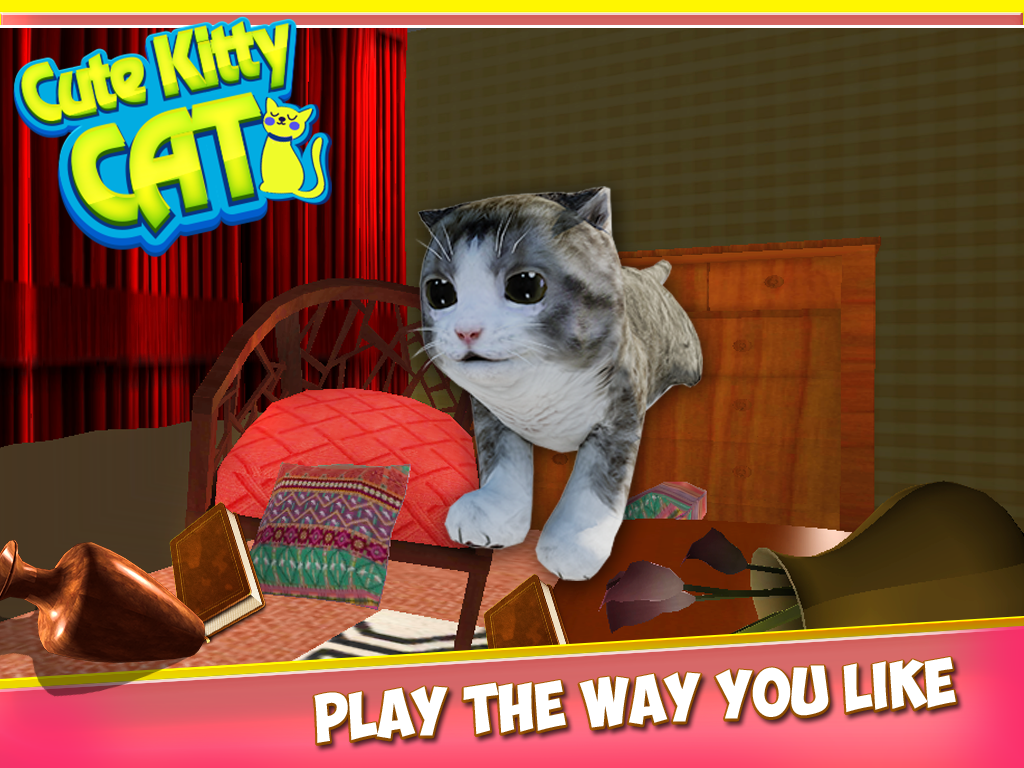 Cute Kitty Cat 3D Simulator Android Apps on Google Play