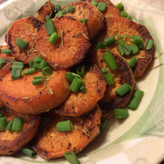 Rosemary Sauteed Sweet Potatoes