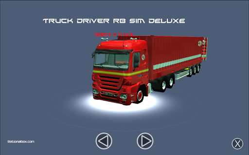 Truck Driver RB Sim Deluxe