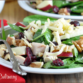 Turkey and Cranberry Salad with Toasted Pecans and Smoked Gouda