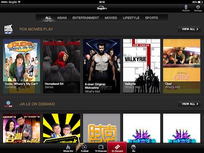 Singtel TV GO - screenshot thumbnail