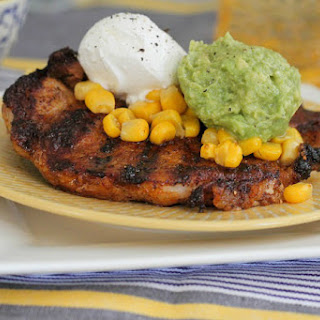 Taco Style Grilled Pork Chops.