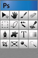 Screenshot of gPad remote touchpad/keyboard