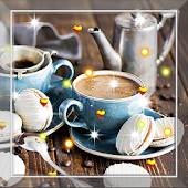 Coffee Cookie live wallpaper