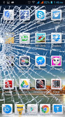 Crack Screen Prank : Broken it - screenshot