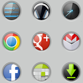 Gloss lockCircles LGHome Theme