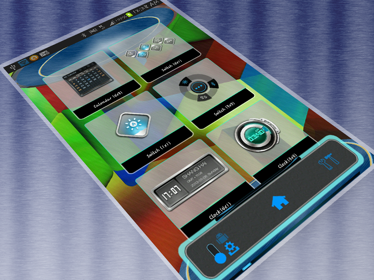 AlloyHD Next Launcher 3D Theme - screenshot