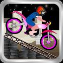 Long Stunt Biker icon