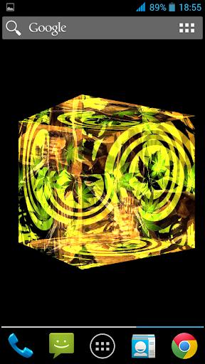 免費下載個人化APP|Cannabis Skull 3D LWP app開箱文|APP開箱王