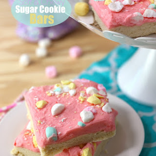 Soft and Chewy Sugar Cookie Bars