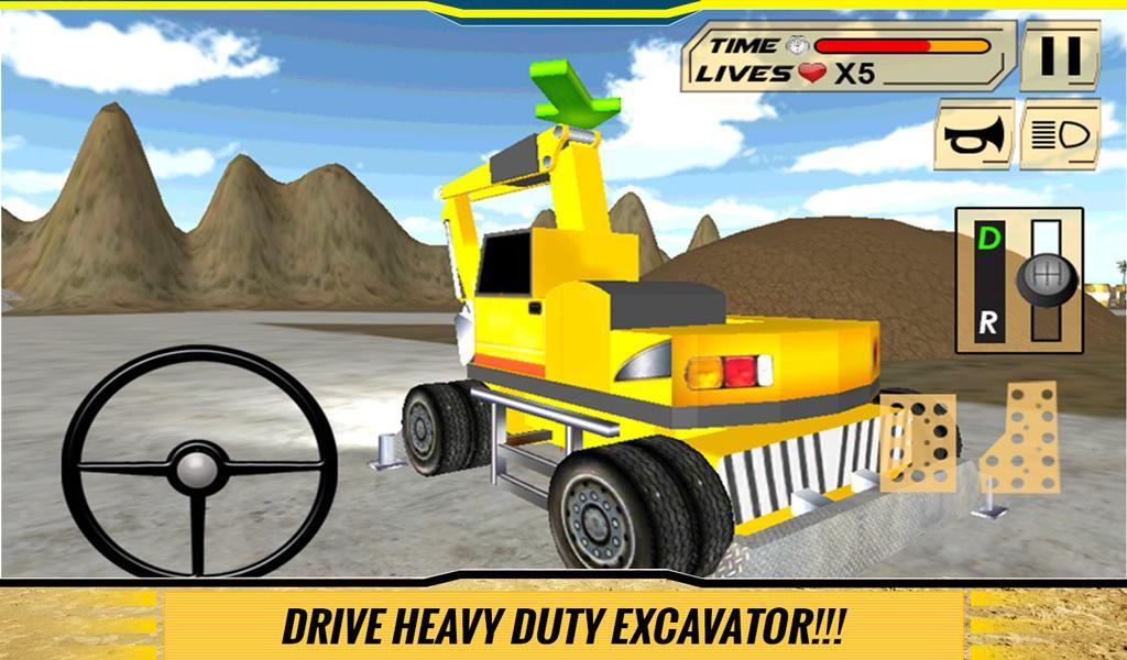 Sand-Excavator-Dump-Truck-Sim 27
