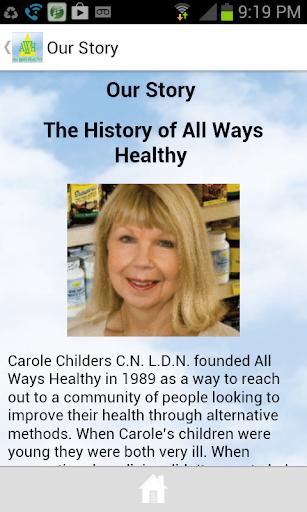 All Ways Healthy