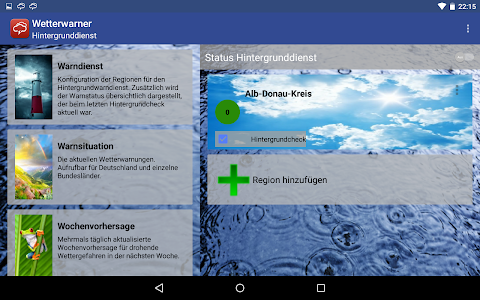 Wetterwarner Pro screenshot 12