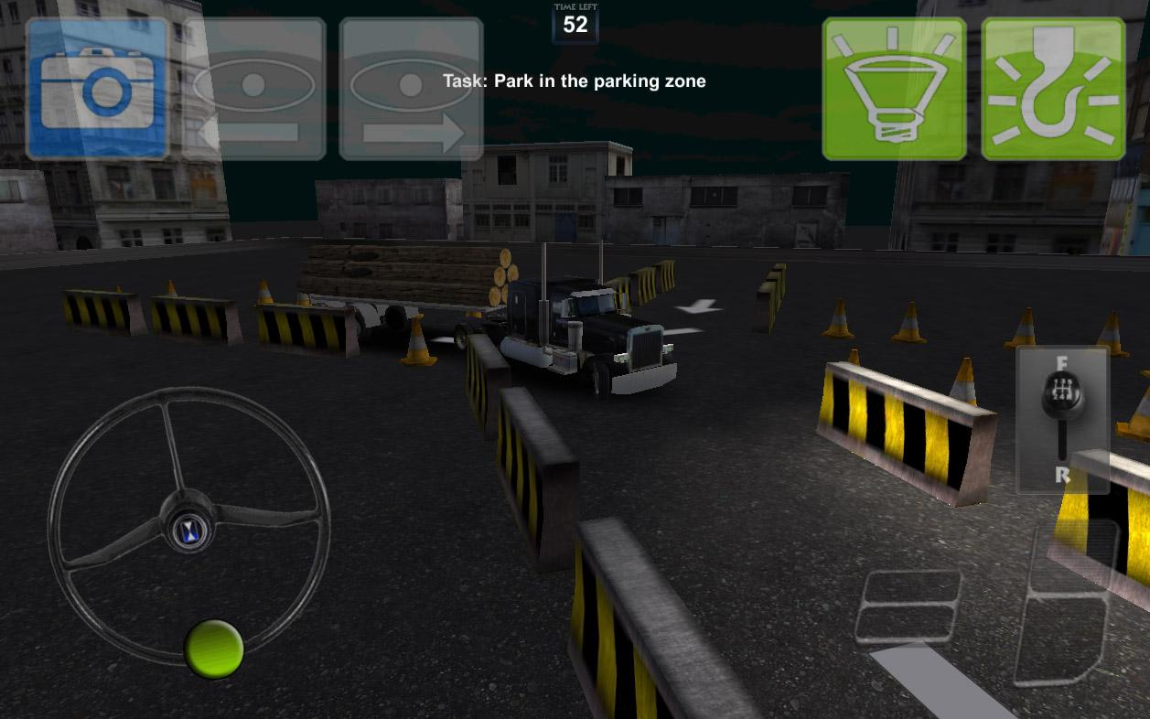 Parking Truck Deluxe- screenshot