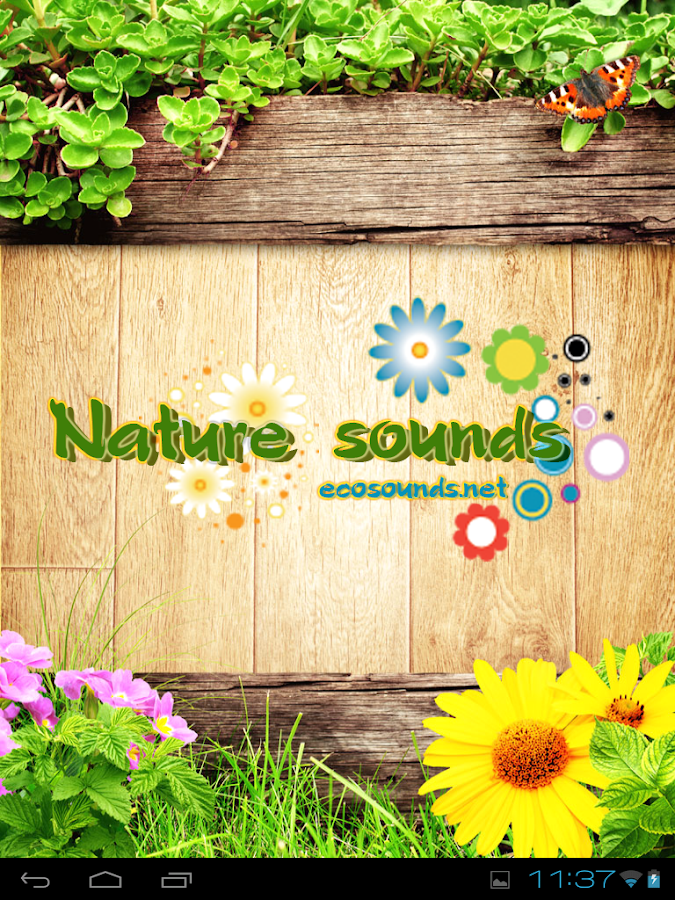 Nature sounds - Ecosounds- screenshot