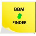 BBM Pins Finder icon