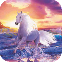 Horse by the sea live wp icon