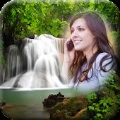 Waterfall Photo Frames Natural