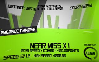 Screenshot of Voxel Rush: 3D Racer Free