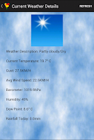 Screenshot of Carlow Weather