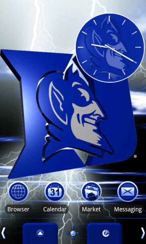 Duke Blue Devils Theme - screenshot