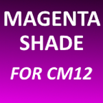 Magenta Shade - CM12 Theme v2.3