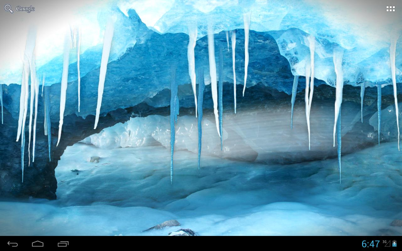 RealDepth Ice Cave LWP  Android Apps On Google Play
