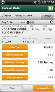 TD Trading - screenshot thumbnail