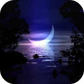 Moon And Stars Live Wallpaper