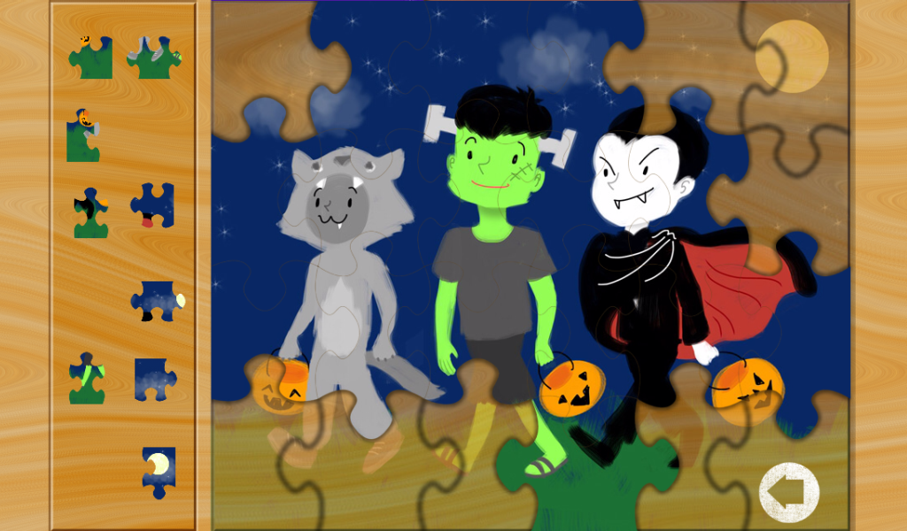 Halloween Games- Kids Puzzles - Android Apps on Google Play